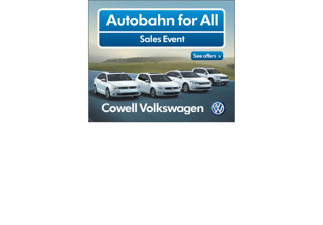 Cowell Volkswagen Autobahn for All Campaign Digital Advertising